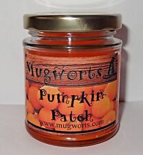 Pumpkin Patch Scented Jar Candle  gift, Wiccan, Pagan, Wicca, Soy wax, Halloween