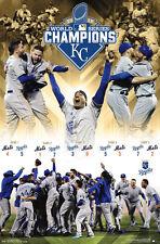 Kansas City Royals 2015 World Series CELEBRATION Champions Commemorative POSTER