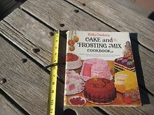 Vintage *** 1966 - CAKE and FROSTING MIX *** Betty Crocker's Cookbook