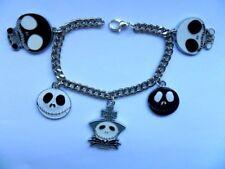 Alloy Enamel Silver Plated Costume Bracelets