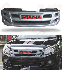 FRONT GREY GRILL GRILLE ISUZU X SERIES DMAX RODEO D-MAX 12 13 14 15 PICKUP UTE