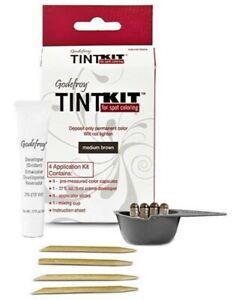 TINT KIT Cream Eyebrow Facial Hair Color (SPOT COLORING)  -  Godefroy FREE SHIP