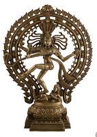 Soprammobile Shiva Nataraja Danza 57 CM 10kg Artigianato India 4689