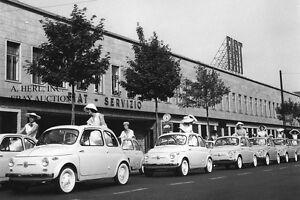 Fiat Nuova 500 1957 –Fiat Cinquecento 1957–official introduction parade– photo 2