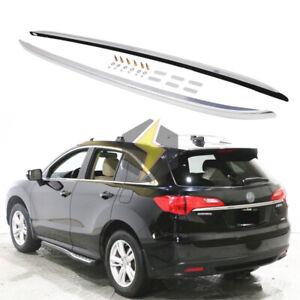 2Pcs Roof Rack Rail for Acura RDX 2012-2018 Aluminum Cargo Luggage Heavy Duty