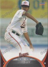 2016 Bowie Baysox Chris Lee RC Rookie Baltimore Orioles Minor League