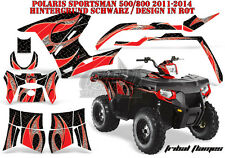 AMR Racing DECORO GRAPHIC KIT ATV POLARIS SPORTSMAN modelli TRIBAL Flame B