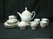 ALT Tirschenreuth 1838 Germany TEA SET Serving for 4 - Cup/Saucer TEAPOT 15pc