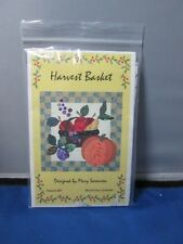 Mary Sorensen - Applique Quilt pattern - Harvest Basket
