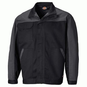 Dickies ED24/7JK Everyday Two-Tone Work Jacket Black/Grey