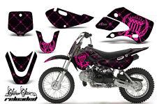 Decal Graphic Kit Wrap + # Plates For Kawasaki KLX 110 02-09 KX 65 02-18 SSR P K