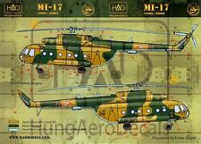 Hungarian Aero Decals 1/35 Russian MI-17 Helicopter