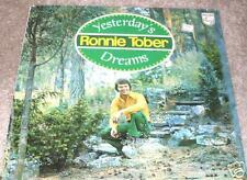 RONNIE TOBER Yesterday's Dreams LP RARE FOLK IMPORT