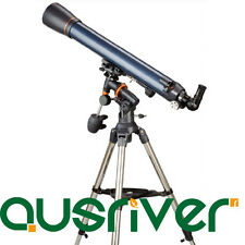 Celestron AstroMaster 70AZ Telescope Refraction Astronomical 70x900 Tripod 21061