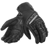 GUANTI GLOVE REV'IT SAND 3 NERO BLACK  TOURING PROTEZIONI TG L