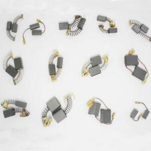 20Pcs Carbon Brushes Repairing Part Tool Various Size For Electric Motor Generic