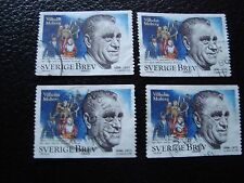 SUEDE - timbre yvert et tellier n° 2052 x4 obl (A29) stamp sweden (E)