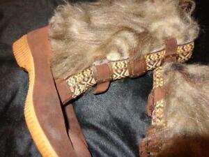 Jan Howard Estate Sale *Grand Ole Opry Legend's Size 7 Dunham's Eskipades Boots!