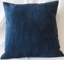 NEW SEASON SOFT CHENILLE  NAVY BLUE  COLOUR CUSHION COVER 17'X17