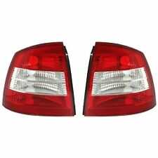 2 FEUX ARRIERE OPEL ASTRA G 3 5 PORTES 03/1998 A 05/2004 CRISTAL BLANC ROUGE