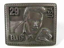 Elvis Presley King of Rock & Roll .29 Stamp USA Belt Buckle 62816