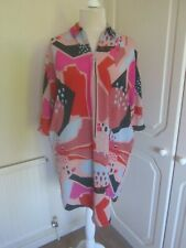 BNWT 2019 MONKI PINK MOLLY OVER SIZED SHIRT ZIP FRONT DRESS SIZE XS £30