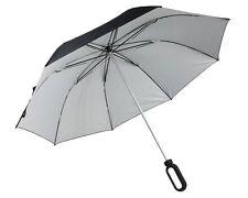 Grand Parapluie LEXON Noir/Argent HOOK LU06NA