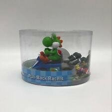 Mario Kart 8 Yoshi Pull Back Racer PVC Plastic Figure Collectible Car Toy 5""
