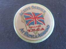 Active Service at Home & Abroad WW1 Australia Pinback Badge