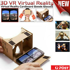 3D Google Cardboard Glasses VR Virtual Reality for iPhone Mobile Android Phone
