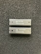 LOT OF 2pcs TMS50C20NL TEXAS IC 40 PIN DIP CMOS Speech Synthesizer