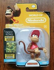 """World of Nintendo - Diddy Kong 3.5"""" Action Figure by JAKKS Pacific"""