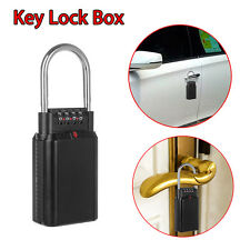 Portable Security Key Lock Box 4 Digit Key Storage For Outdoor Car-door Handle