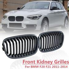 Carbon Fiber Front Kidney Grill Grille For BMW F20 F21 114i 116i 125i 2011-2014