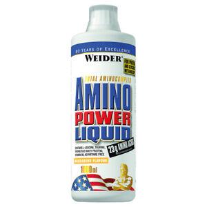(28,90€/l) Weider Amino Power Liquid , 1000ml Aminosäuren, verschiedene Sorten