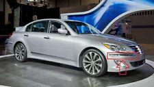 Front Bumper Molding Chrome Trim Passenger Genesis Sedan 12-13-14 OEM Set of 2