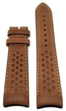 Original MIDO Multifort 22mm Brown Tan Leather Band Strap For Case-Back M025407A