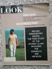 April 4,1967 Look Magazine. Jackie Kennedy on the cover.
