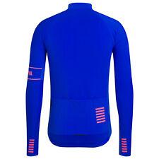 NEW Rapha Men's Cycling Pro Team Long Sleeve Thermal Jersey XXL Ultramarine RCC