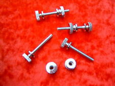4 New Reproduction Voit double hose band clamp nut and screw