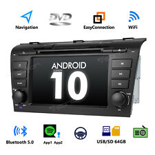 """7"""" Android 10 Car Radio DVD GPS Navigation Touch Screen for Mazda 3 2004-2009 BK"""