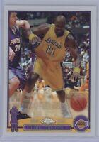 2003 Topps Chrome Karl Malone #32 Refractor Lakers HOF SP