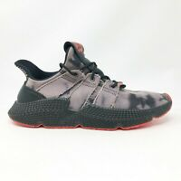 Adidas Mens Prophere DB1982 Core Black Solar Red Running Shoes Lace Up Size 12