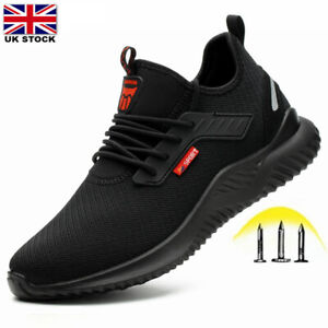 Groundwork Safety Boots Mens Women Breathable Sport Shoes Steel Toe Cap Trainers