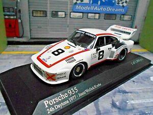 PORSCHE 935 Turbo 24h Daytona 1977 #8 Kremer Joest Wollek Kre Minichamps SP 1:43