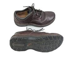 Red Wing Shoes Mens US 10.5D EUR 44 Brown Leather Steel Toe Slip Resistant Shoes