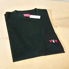 Supreme Playboy Pocket Tee T Shirt Black Size XL Extra Large