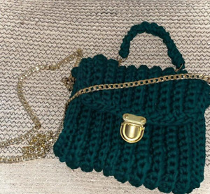 Crochet Handmade Bag Clutch