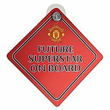 Manchester United Baby On Board Sign