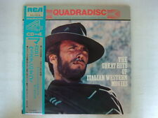 QUAD CD 4 CHANNEL / CLINT EASTWOOD COVER THE GREAT HITS OF ITALIAN WESTERN MOVIE